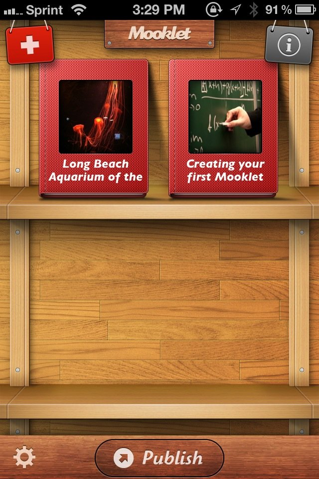 Create Stunning Albums With Mooklet For iPhone