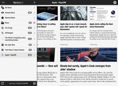 Reeder And Flipboard Look-Alike App Newsify Goes Universal