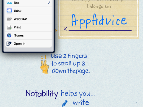 Popular Handwriting App Notability Is All Boxed Up