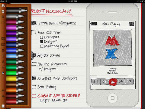 Noteshelf Finally Gains Retina iPad Graphics Plus Smart Pen Support