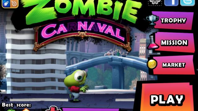 Wreak Havoc As A Zombie In Zombie Carnaval