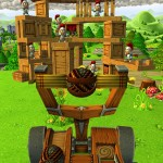 Destroy The Enemy Knights And Save The Princess In Catapult King