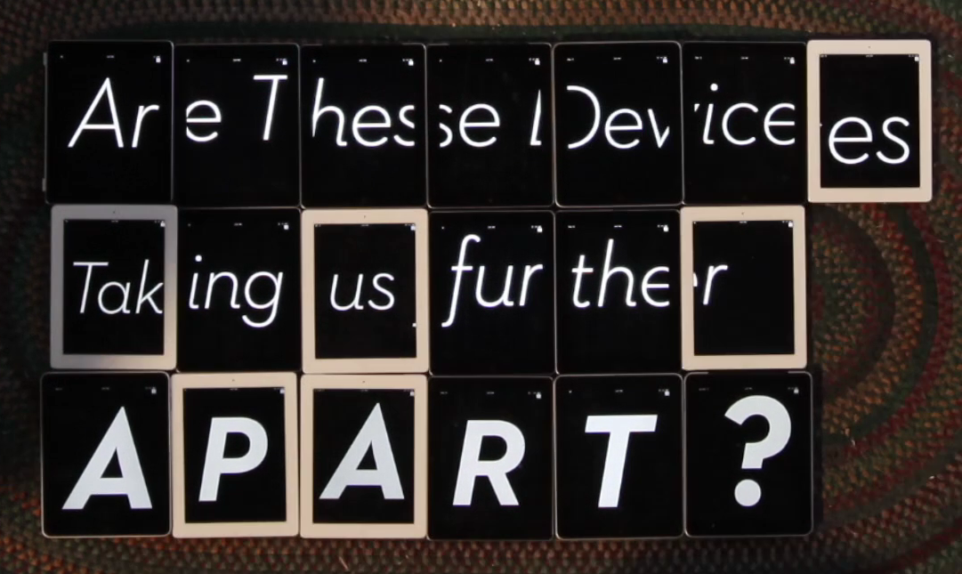 iPad-Based Jumboltron Movement Crowdsources 'Inspiration,' Makes Much Ado About Nothing