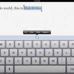 SlideWriter Slides Into App Store To Make iPad Text Editing Easier