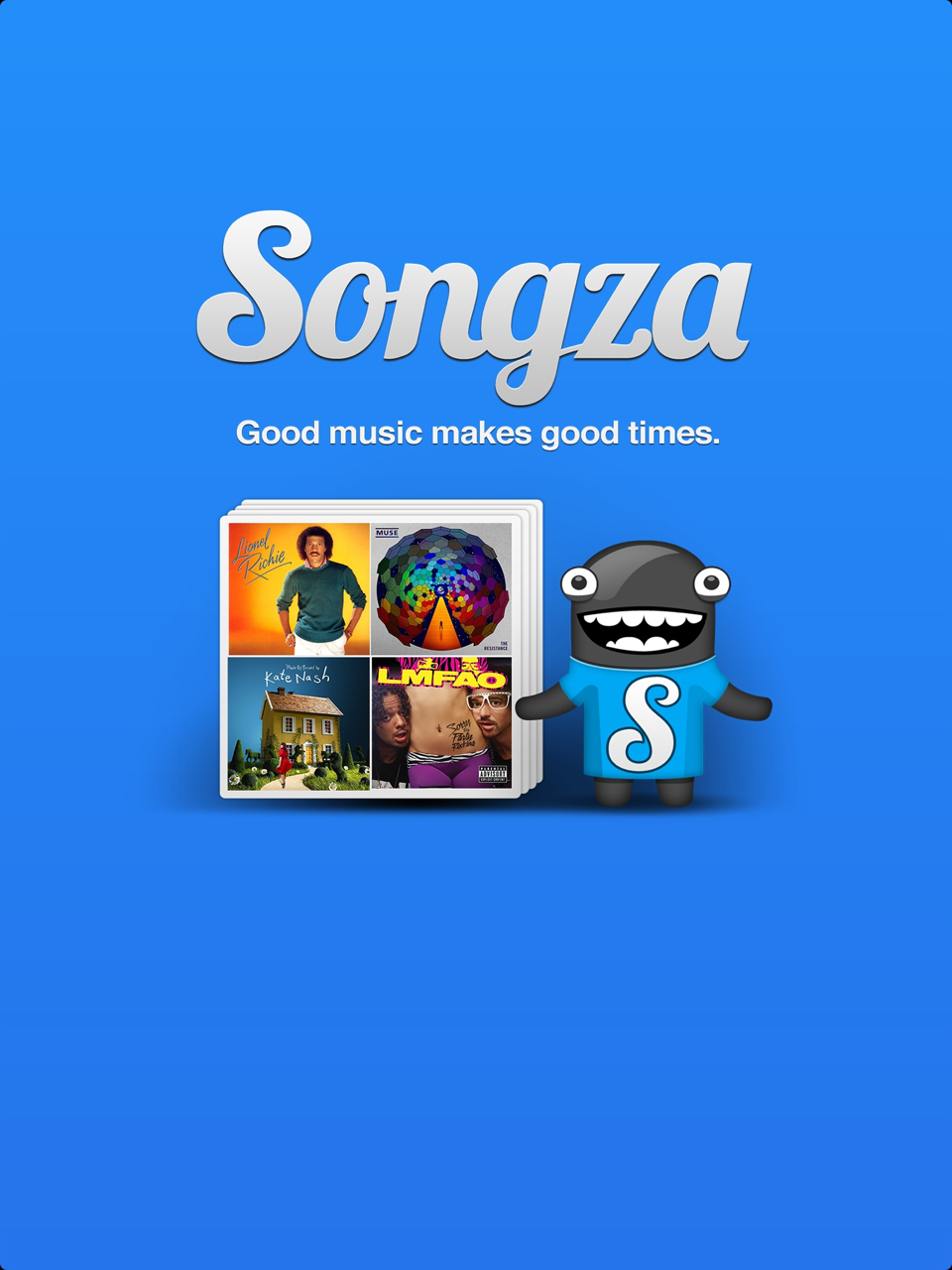 Songza Goes Universal: New iPad Version Comes Complete With Innovative Music Concierge