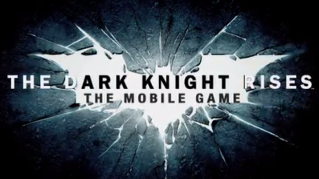Gameloft Teases Upcoming The Dark Knight Rises iOS Game