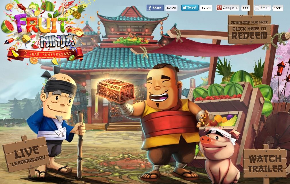 Grab A Free Copy Of Fruit Ninja While You Still Can!