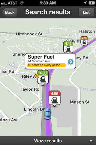 Gas Up For Less With Waze's New Fuel Feature