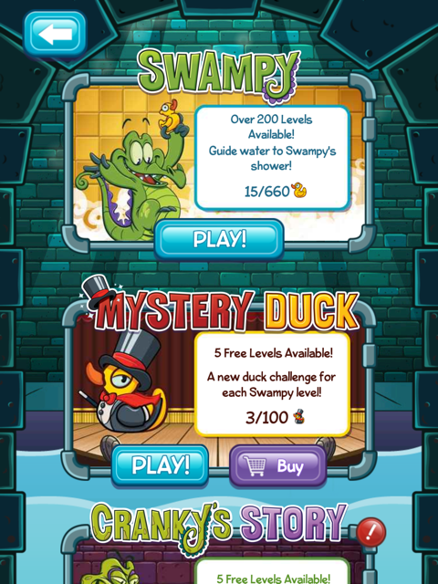 Where's My Water? Finds New Muddy Puzzle Pack And Mystery Duck Story