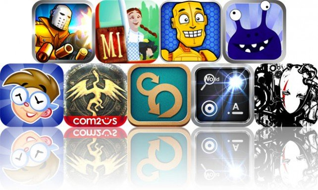 Today's Apps Gone Free: Lock 'N' Load, Magic Ink - The Wonderful Wizard Of Oz, Crash And More
