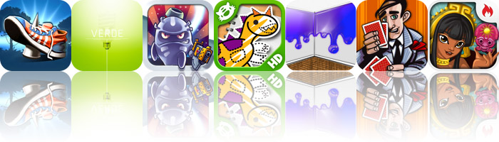 Today's Apps Gone Free: Grim Joggers, Verde, Monster Shooter: The Lost Levels And More