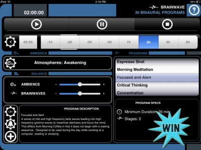 A Chance To Win A Brain Wave Promo Code For iPad, iPhone And iPod Touch