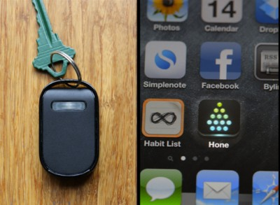 Hone Kickstarter Project Uses Low-Energy Bluetooth 4.0 To Track Down Your Lost Keys