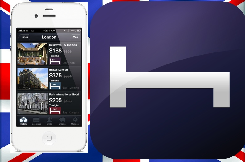 Hotel Tonight App Now Offering London Deals Too