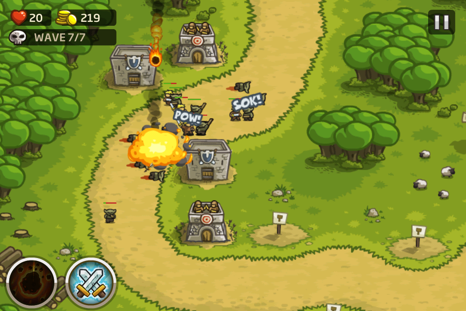 Now On iPhone, Kingdom Rush Could Be The Perfect Tower Defense Game