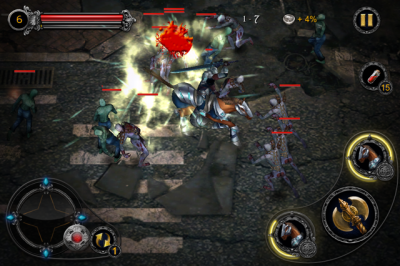 Button Mash Your Way Through Endless Hordes Of Undead In Apocalypse Knights