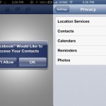 New iOS Version Requires Apps To Receive Explicit Permission To Access Sensitive Data