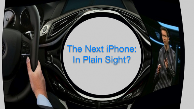What, You Missed The New iPhone At WWDC?