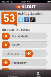 Klout Updates To Version 1.5 With Four New Features