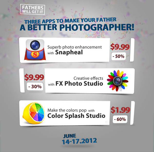 Mac Photo Editing Programs On Sale For Father's Day