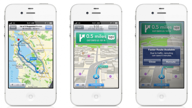TomTom Confirms They're Behind Apple's New Turn-By-Turn Maps Feature