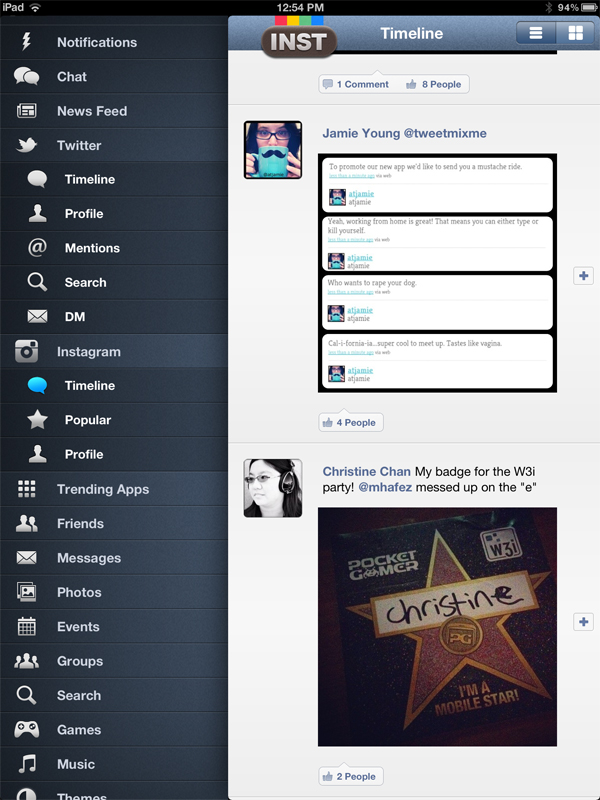 MyPad Adds Support For New Social Network With Update