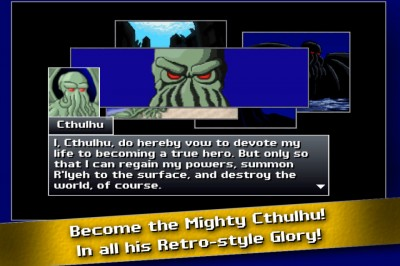 Cthulu Saves The World Now Available On iOS