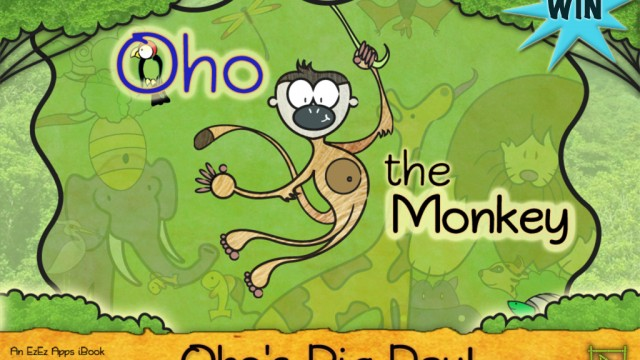 A Chance To Win Oho The Monkey - Oho's Big Day For iPhone And iPad