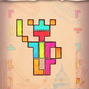 With Doodle Fit 2 You Can Create Your Own Guitar Shaped Tangrams