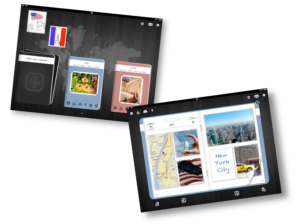 Create And Share Digital Photo Albums On Your iPad With Photobook+