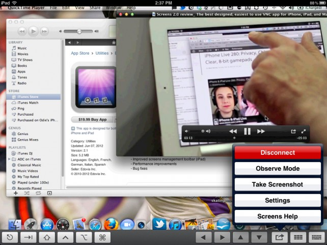 Screens VNC Gains An Observation Only Mode And Further Improvements