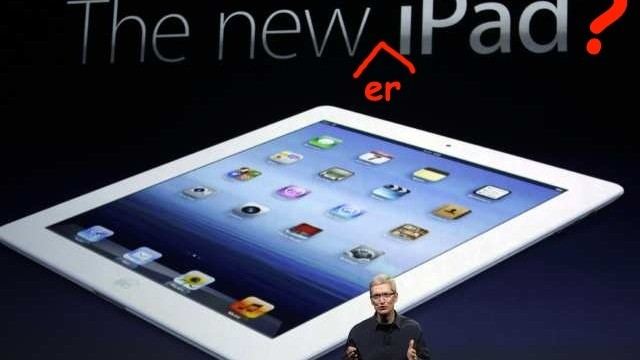 Apple Rumored To Give New iPad An Even Newer Screen This Summer