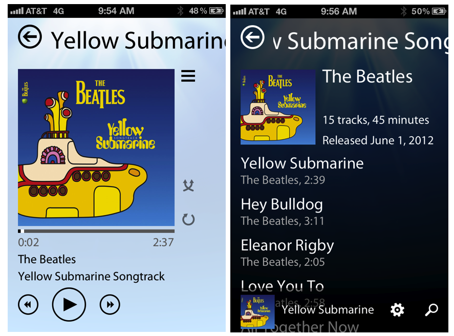 Track 8 Music App And Its Unique Metro Look Headed To iPhone