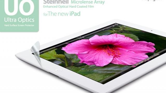 Ultra Optics Screen Protector Lets The New iPad's Retina Display Shine Through