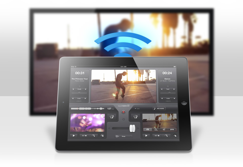 Make Music Video Mashups In Real Time With Vjay For iPad