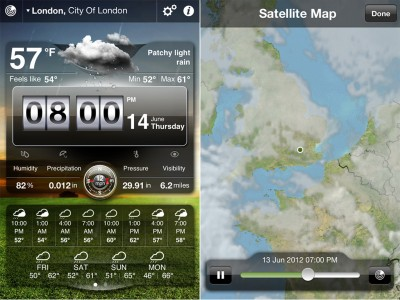 Apalon's Weather Live App Now Includes Radar, Maps, Notifications And More