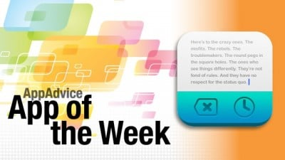 AppAdvice App Of The Week For July 24, 2012