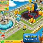 A Huge, Fun-Filled Update For EA's Theme Park Roller-Coasters Into The App Store