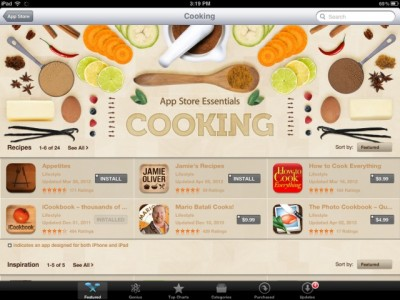 Apple To Add 'Food & Drink' Section To iOS App Store, Developer Email Confirms