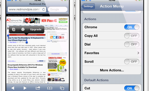 Could This Be The Easiest Way To Open URLs In Chrome For iOS?