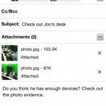Google Updates Gmail For iOS: Adds Smoother Animations, Ability To Save Photo Attachments