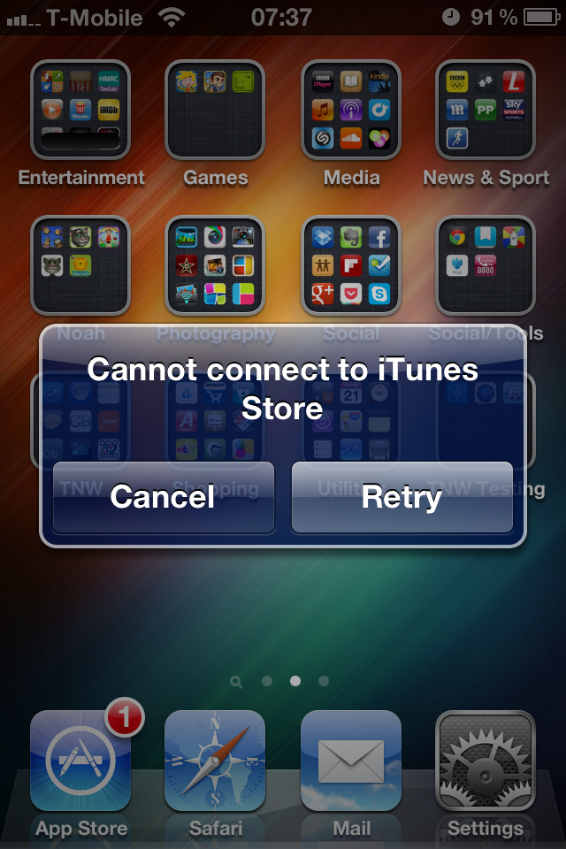 Updated With Workaround: Users Around The World Report App Store Outage