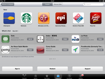 Indulge In The New Food & Drink Category In The App Store