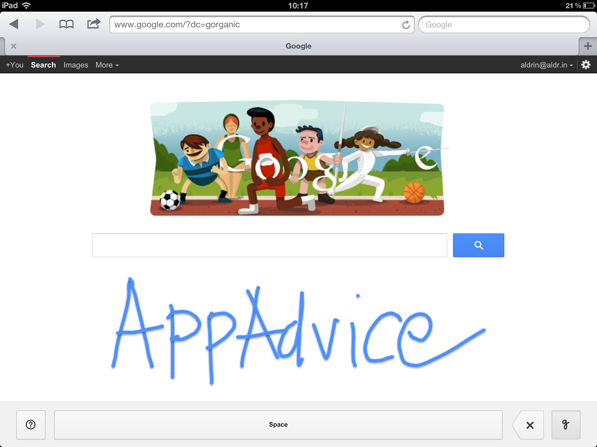 Google Now Lets You 'Handwrite' Your Search Queries On Your iDevice