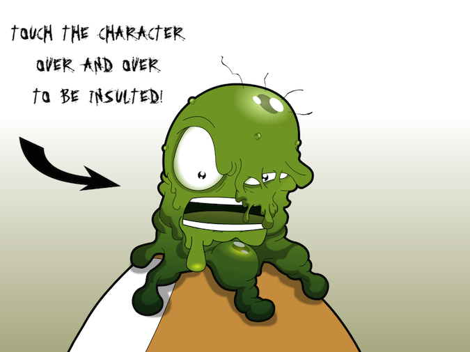 Quirky App Of The Day: Angry Booger Is As Insulting As He Is Gross