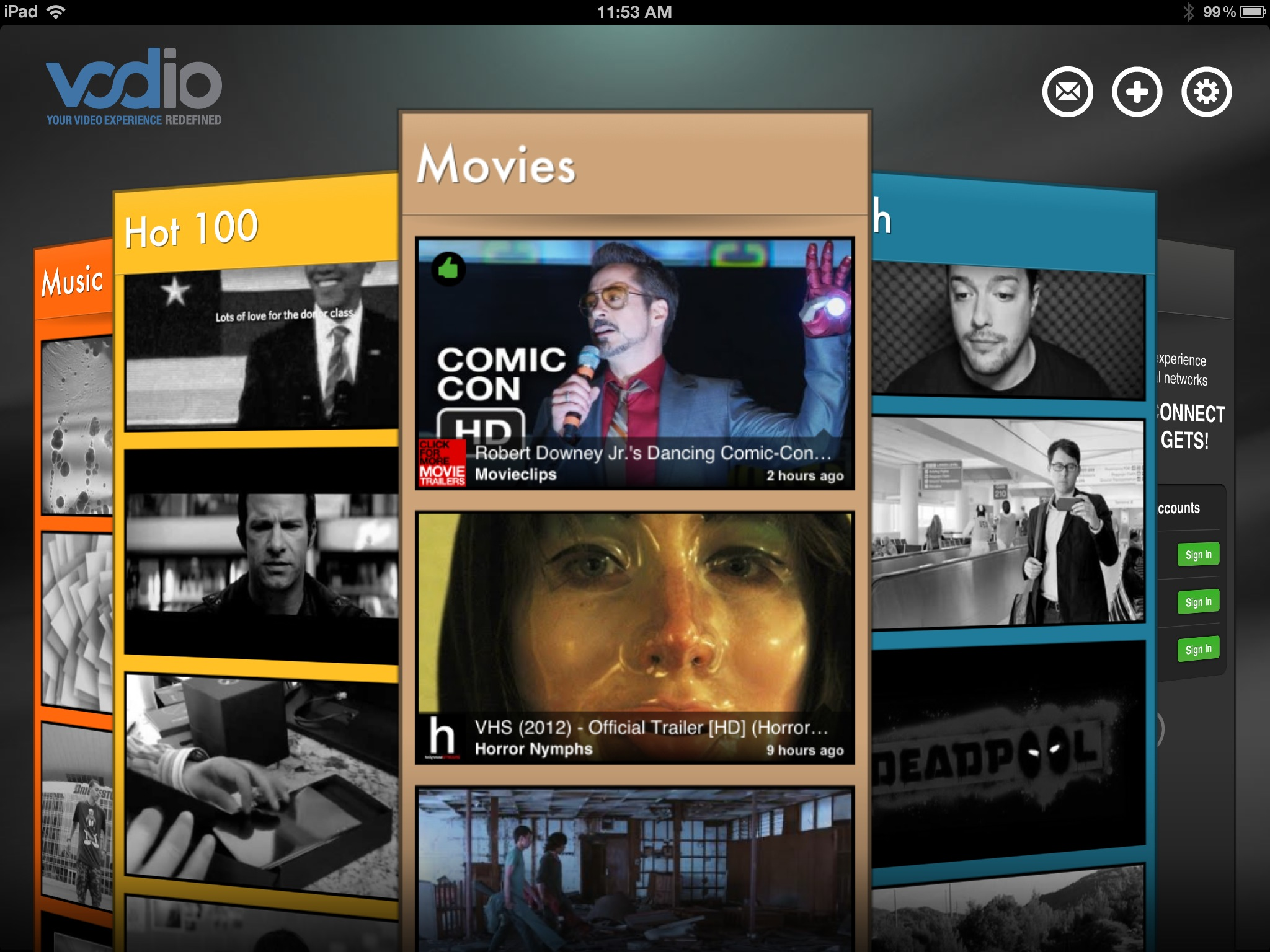 Never Be Bored Again With Vodio On Your iPad