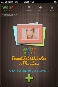 Webr by Lazy Appz screenshot