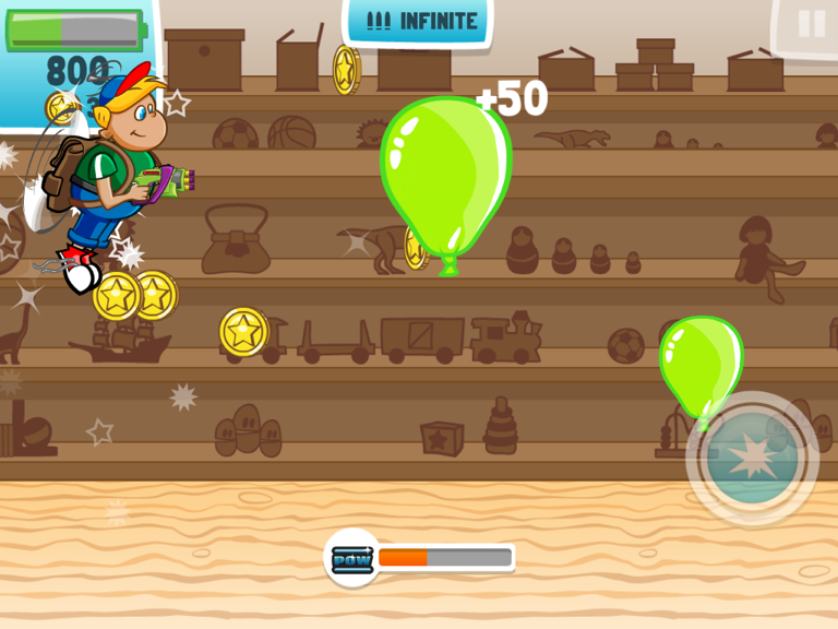 Show Those Balloons Who's Boss In Ballooned!