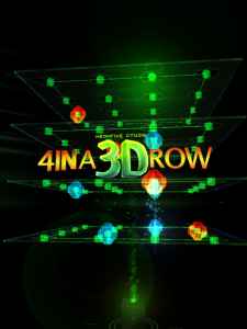 4 IN A 3D ROW by NEONFIVE STUDIO screenshot