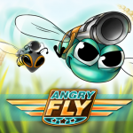 Master Difficult Controls To Fly To Safety In Angry Fly Adventure HD